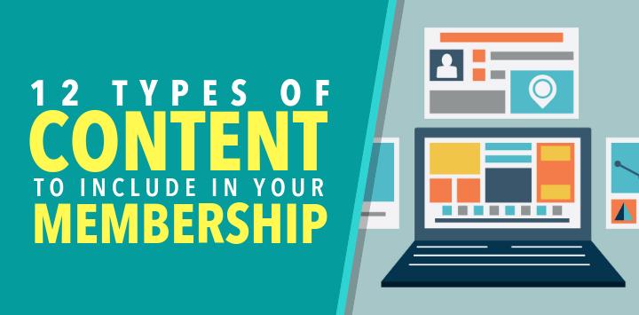 Membership Content Types