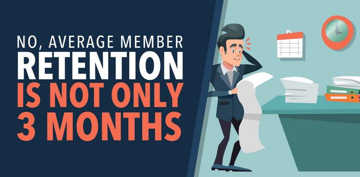 Average Member Retention