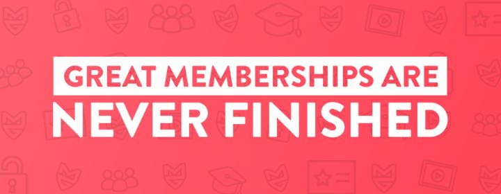 Membership Guys - Never Finished