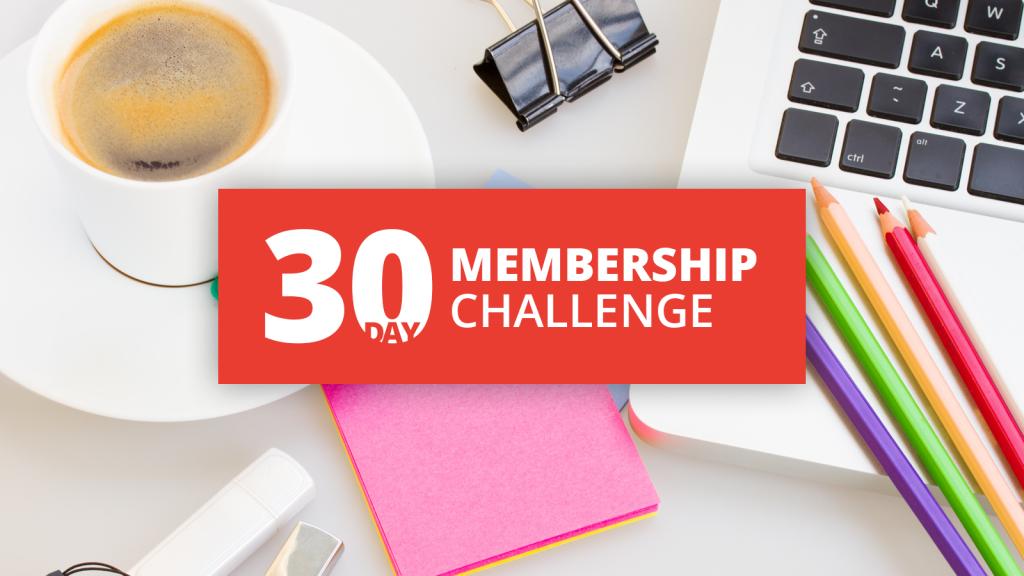 30 Day Challenge Promo Image
